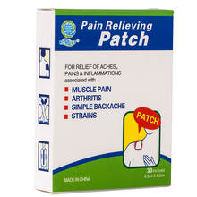 Natual herbal muscle pain relief platch migraine