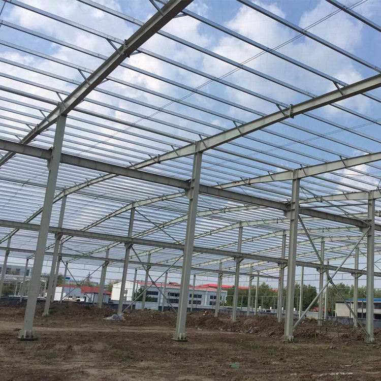 Long-span Steel Structure Customized Prefabricated Steel Structure Building