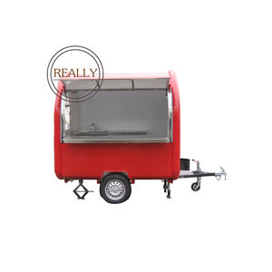 multi function hot dog ice cream mobile truck food cart street sale trailer price for sale
