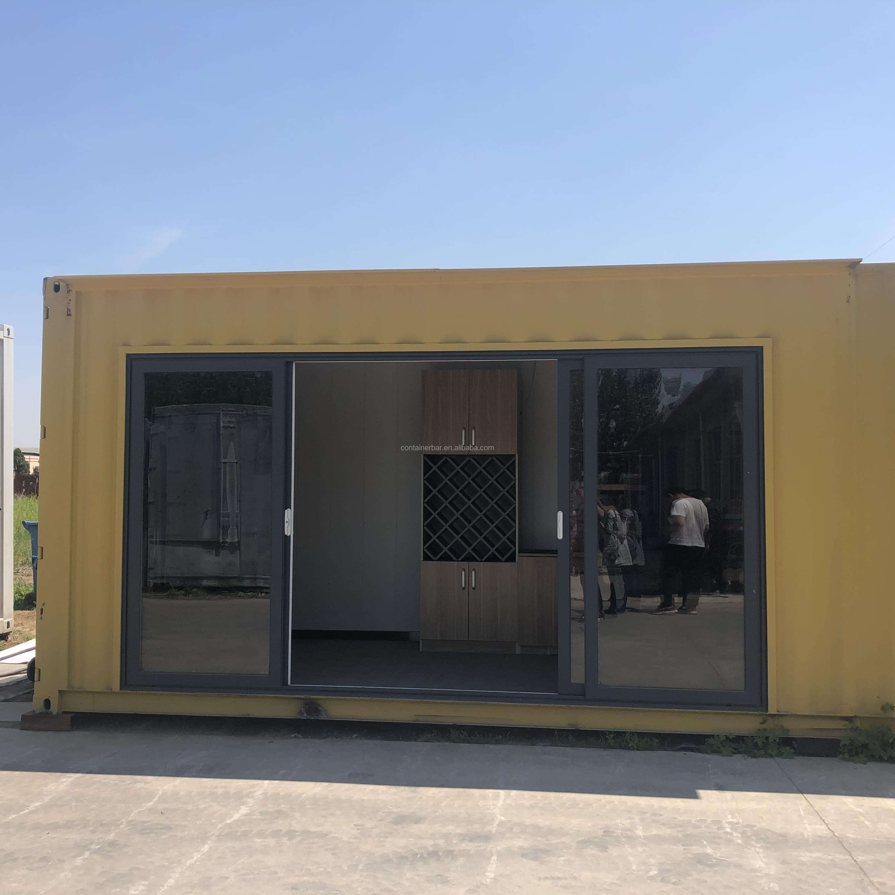 Ready Made Economic Building Container Van Prefabricated Apartments