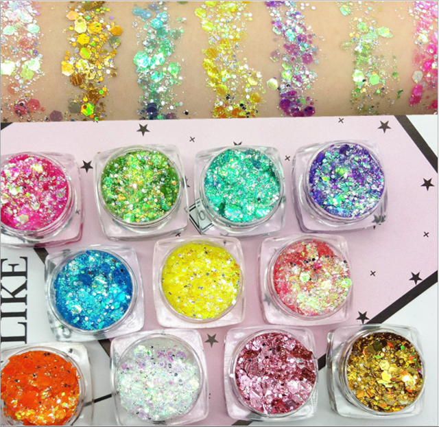Nail Art Decoration Usage and Sequins Material nails art