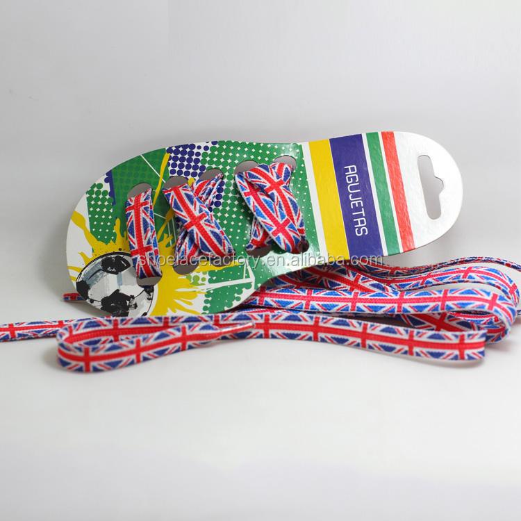 الترقيات بالجملة شعبي مخصص الكلاسيكية نمط البريطانية العلم مطبوعة حذاء الأربطة