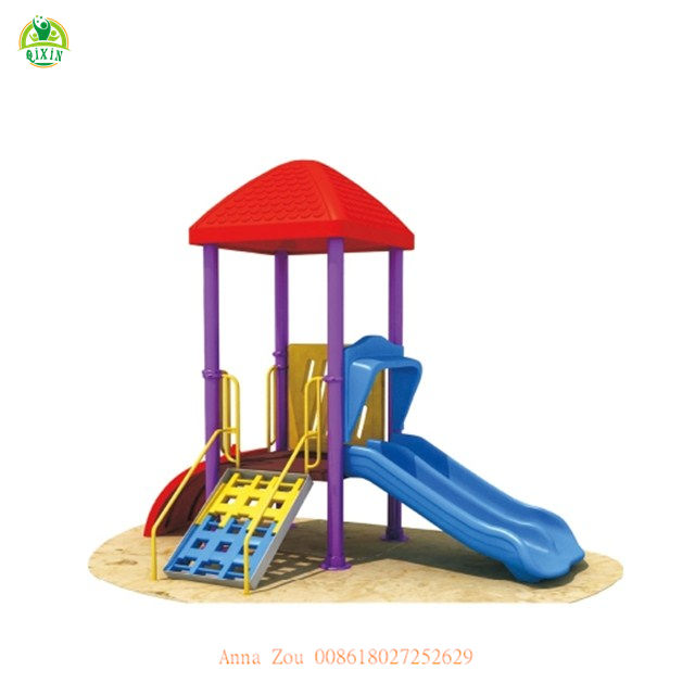 Excellent mini cool playground equipment play system outdoor play set plan QX-068D