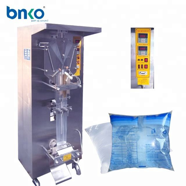 Bag Filling Sealing Machine For Liquid 100-500ml pure water filling machine