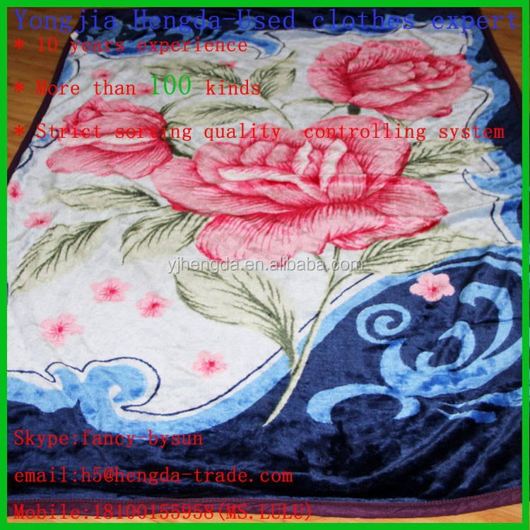 used woollen blanket second hand bed sheets wholesale used clothing in bales