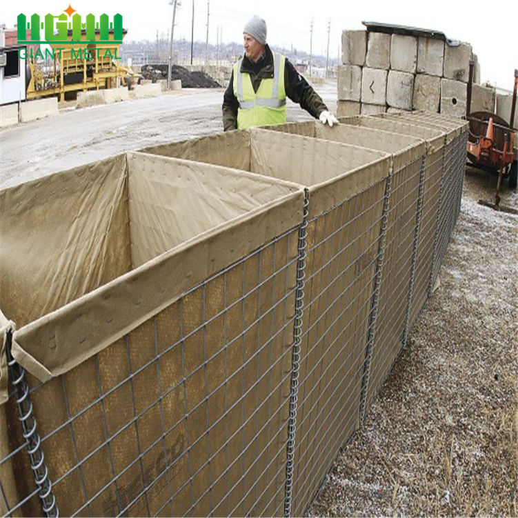 Factory price military sand wall hesco barriers for sale