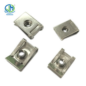Stainless Steel Spring Nut U Clip Nut M6 In Stock