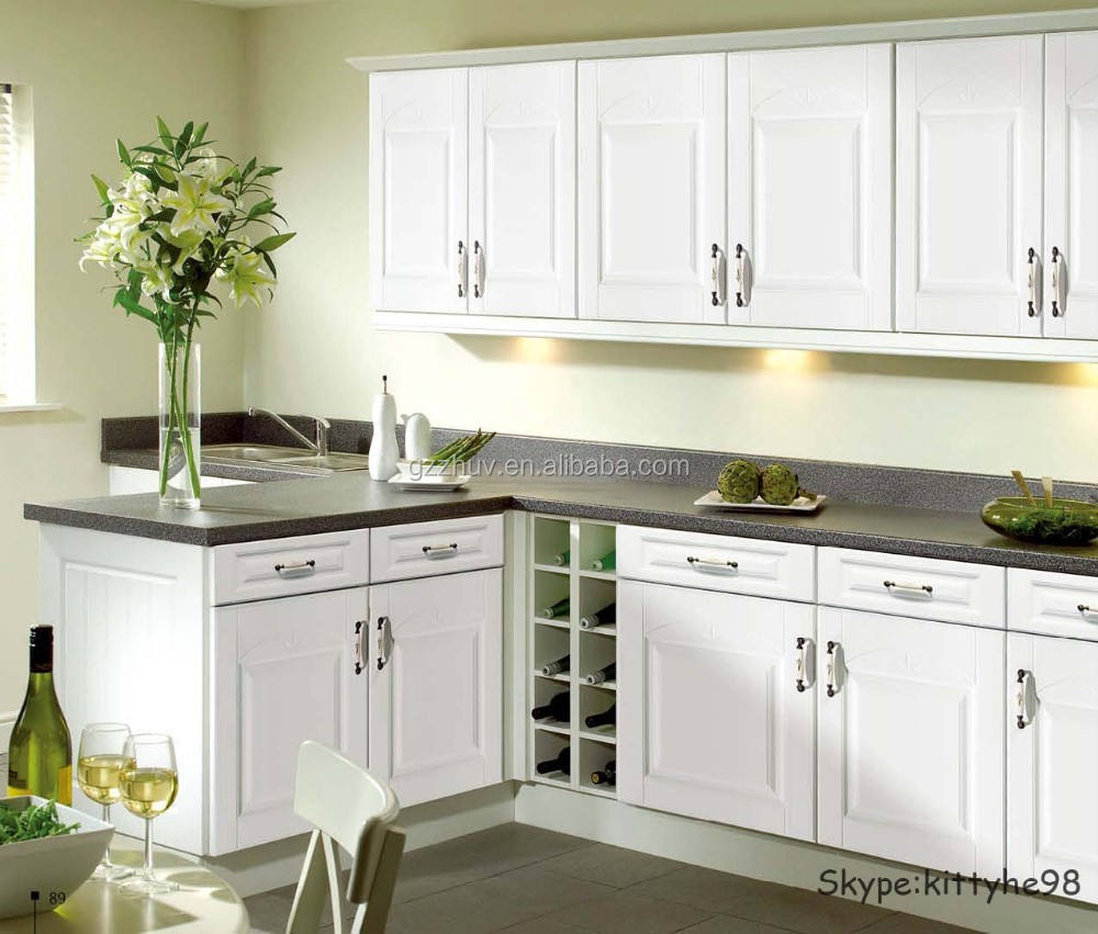 white gloss pvc mdf kitchen cabinet doors kitchen cabinet