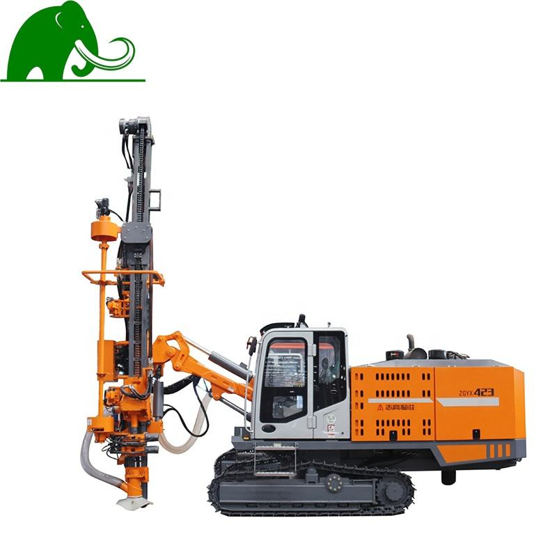 ZGYX - 423 Integrated DTH Drill Machine Crawler Rock Drill Rig for Mining DTH Drilling Rig