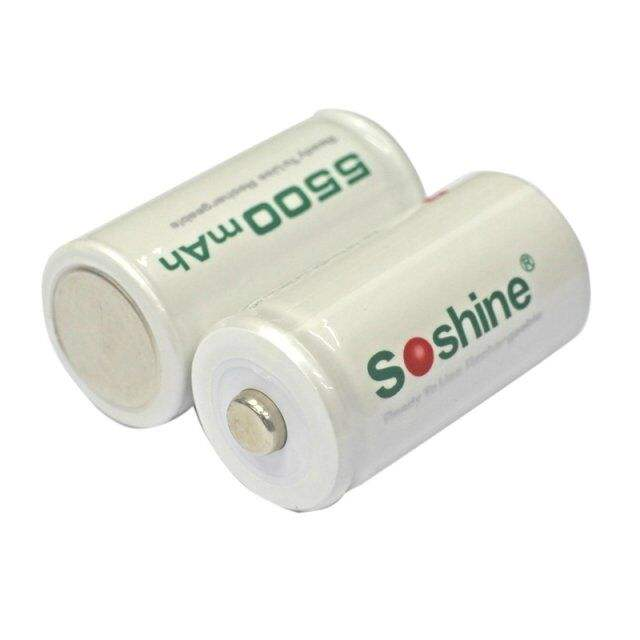 New Arrival 1.2V 5500mAh Ni-MH Rechargeable Battery available stock C battery