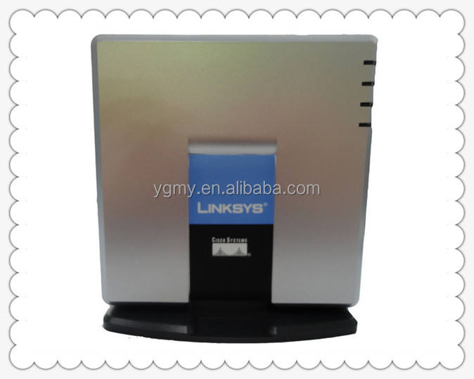 UNLOCKED PAP2T-NA Linksys PAP2T Internet SIP VOIP Gateway