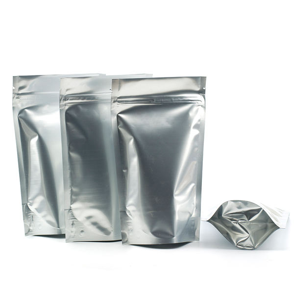 Aluminum Foil zipper Bag,Aluminum Laminated Foil Pouch,Foil Bag