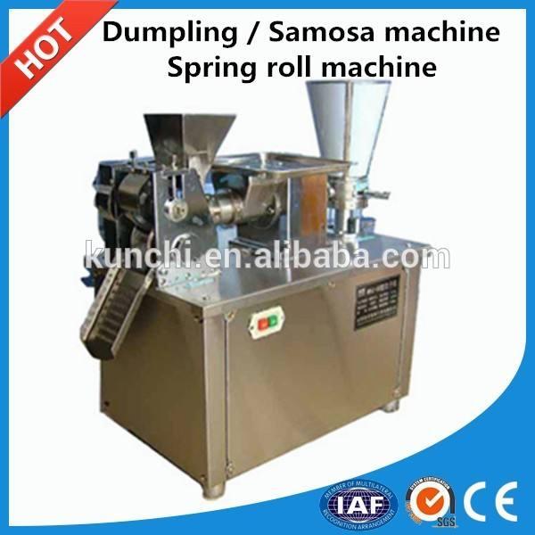 Alta capacidad de rendimiento dumpling / spring roll / samosa máquina de procesamiento / máquina dumpling