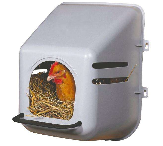 poultry nesting box for laying