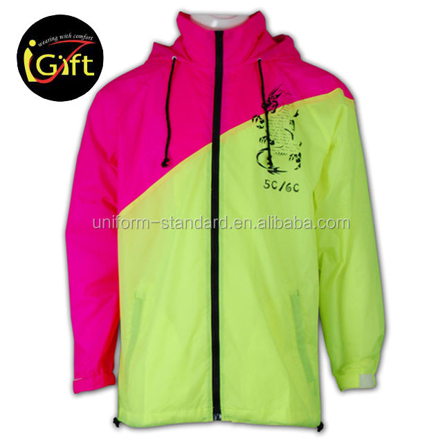grosir custom made nilon ritsleting rib bawah jaket jaket