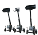 4 wheel steering/front steering/crab steering switchable telescopic boom handler loader