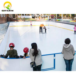 Custom good quality synthetic ice board for hockey synthetic synthetic ice skating rinks