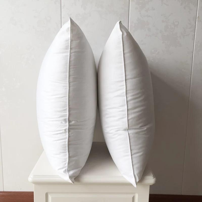 100% cotton feather cushion inserts /inner /pads wholesale