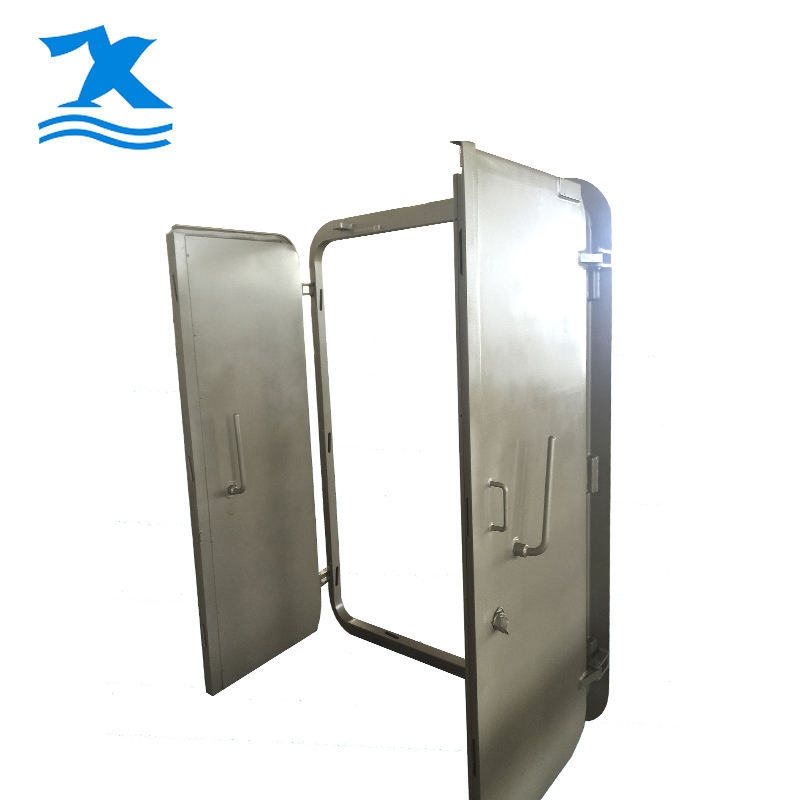 Marine ship gastight weathertight steel wheelhouse door