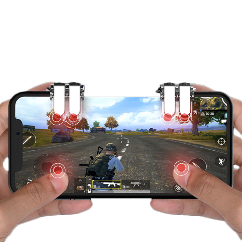 2019 Newest Hot Sale Mobile W6 Game Controller Gamepad For Popular Games