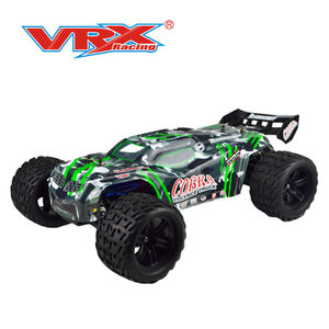 Vrx racing Electric Brushless Cobra EBL RC Truck with 2.4GHz Radio,11.V Vehicle Battery and Charger Included (1/8 Scale)