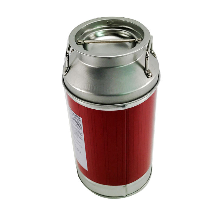 Small Round Milk Can Use for Milk Candy Tin Can