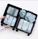 6 PCS Travel Set OEM/ODM Hot Sale High Quality Men And Women Travel Packing Cubes Travel Set Bag In Bag