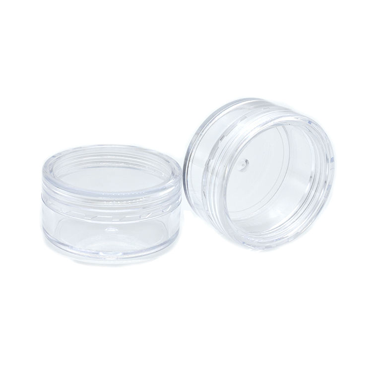 low price fancy 2.5g 3g 10g 15g 20g 5g plastic cream jar 10 ml plastic cosmetic jar 1g plastic jar 15 ml