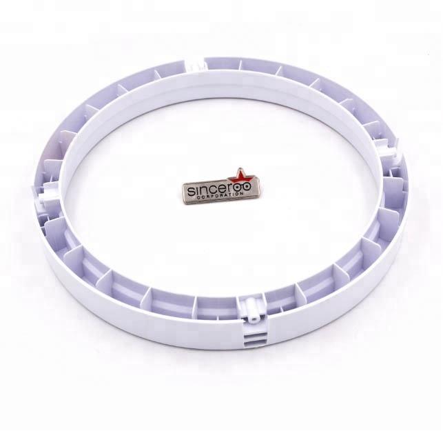 Nuevo desarrollo de productos especializados en hacer mercado de América del Sur lavadora bañera blance anillo