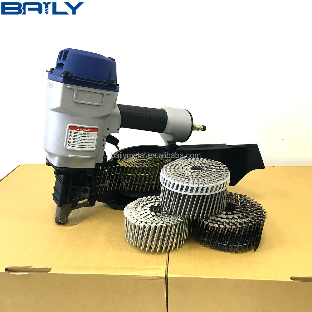 BAILY supply high quality CN45 CN50 CN55 CN57 CN70 CN80 CN90 CN100 CN130 AIR COIL NAILER