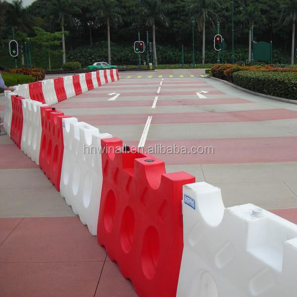 Plastic Water Filled Road Safety Barrier