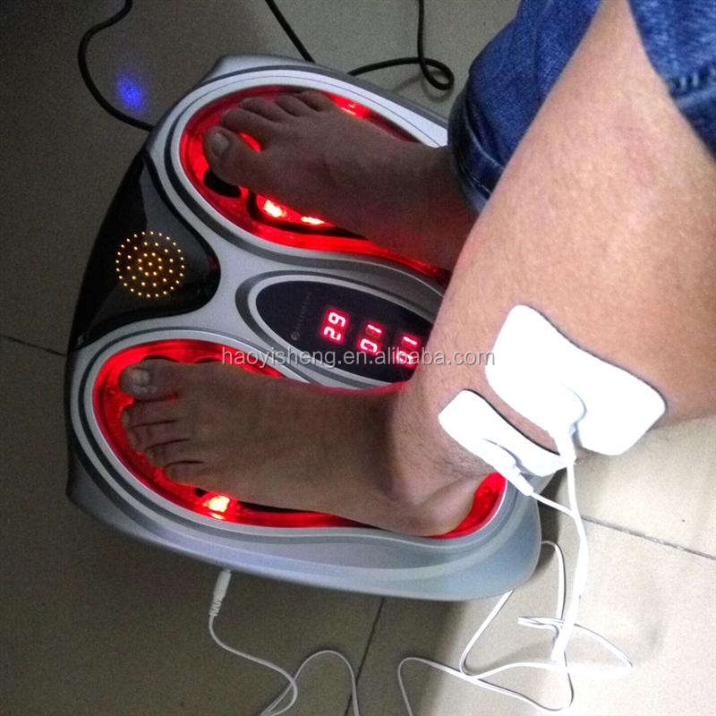 2017 TENS electric portable foot personal massager with infared