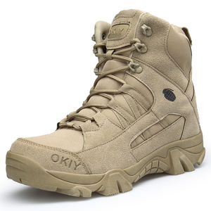 Tactical military khaki boots men desert ,army safety shoes military desert boots suede,shoes army commando delta tactical boots