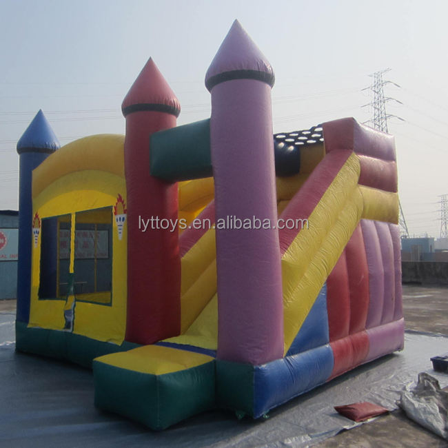 Used inflatable bouncing castle for sale