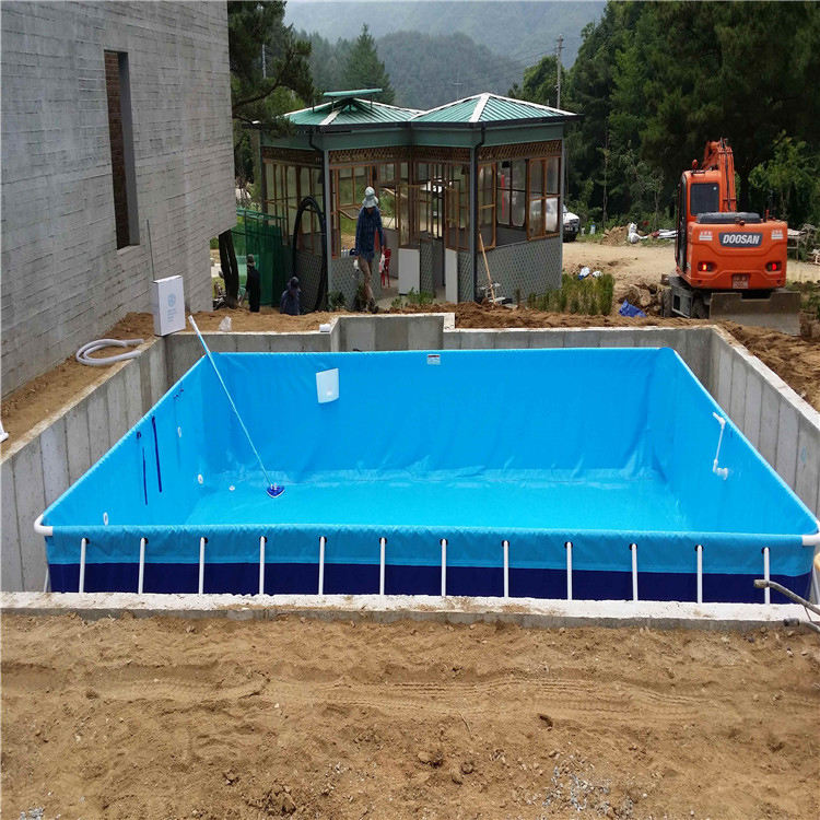 Wholesale Outdoor Intex Round Square Rectangular Steel Metal Frame Pool Steel Swimming Pool & Accessories