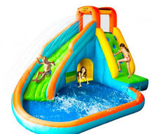 high quality inflatable swimming pool with a slide for kids