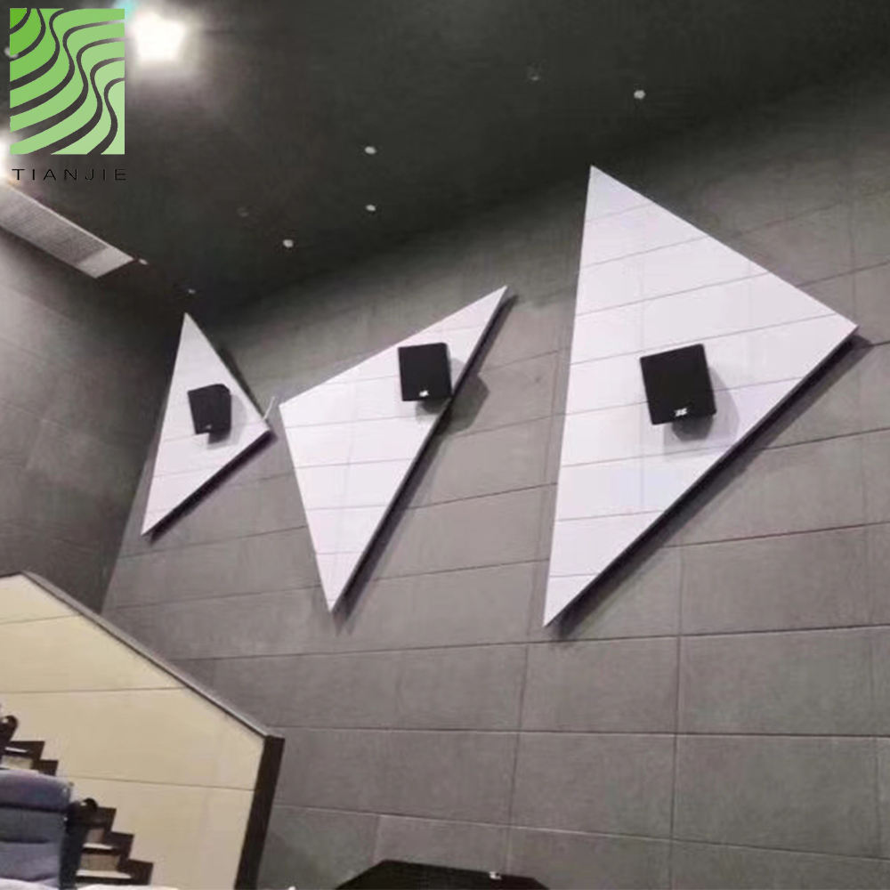 Tianjie Acoustic panels Factory Best sell multi types unique 100% polyester acoustic panel