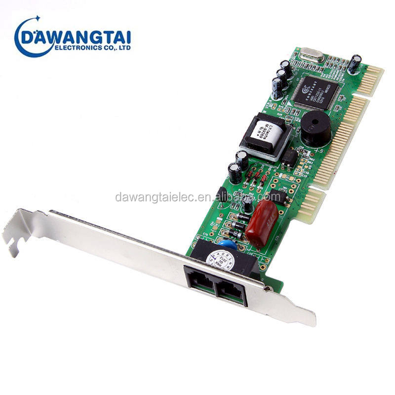 2x Port USB2.0 56K V9.2//V9.0//V.42 Dial Up Voice Data Fax Modem for Win Vista