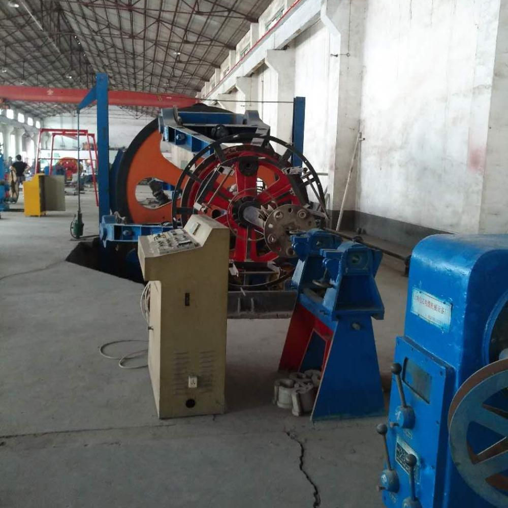 Power Cable Cradle Type twister machine, Second Hand Aerial Bundled Cable 2500 bobbin Drum Twister