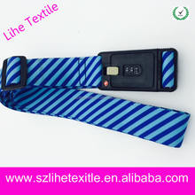 Alibaba recommend luggage strap with lockable buckle