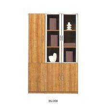 Classic high end simple school clinic home lawyer office equipment modular wooden wall file storage cabinet