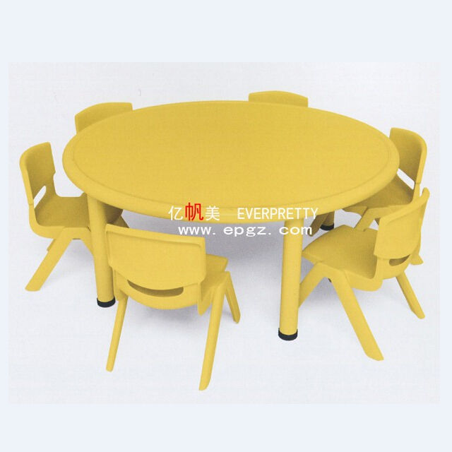 New Play School Plastic Children Furniture Kids Table Chair for sale
