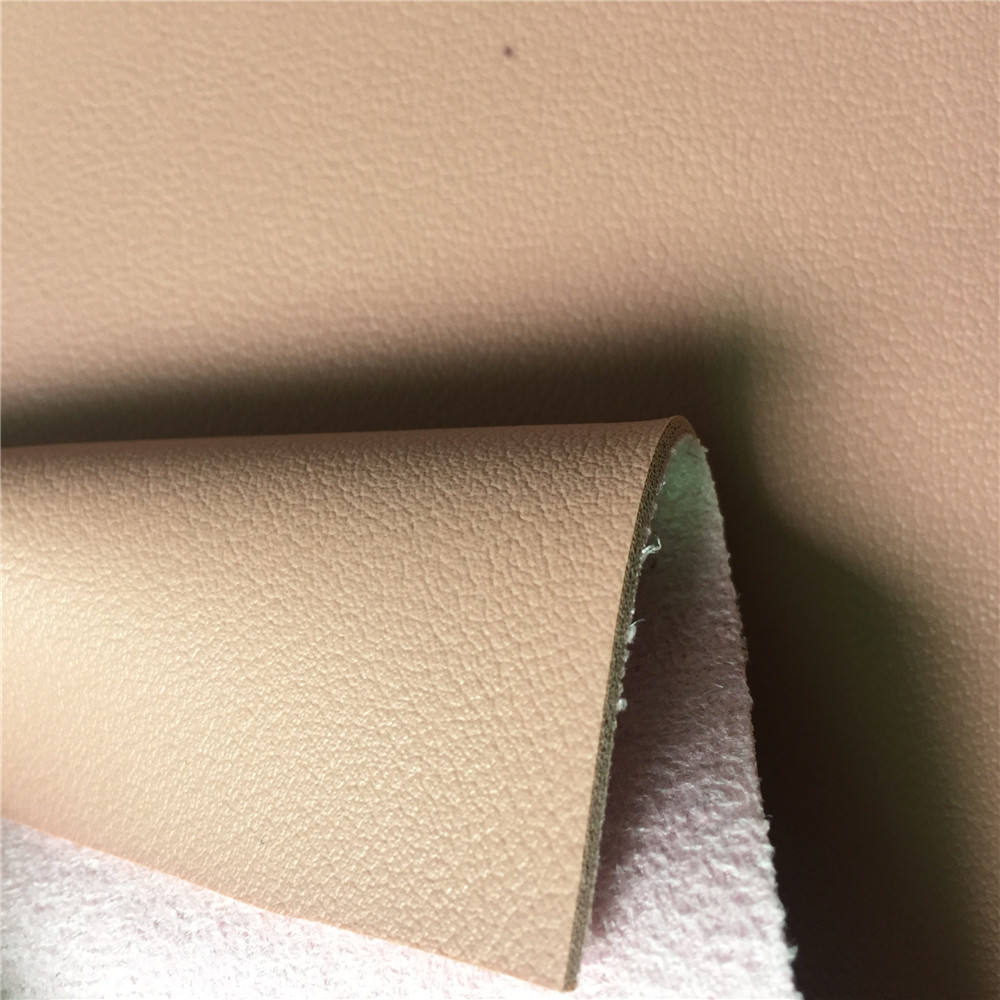 Suede backing PVC Rexine leather cheap PVC Synthetic leather