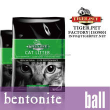 pellet premium ball shape bentonite cat litter