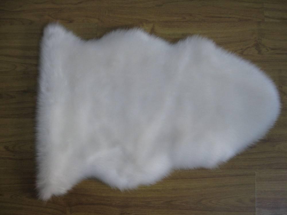 shaggy artificial de piel de zona de alfombras para el hogar decoración