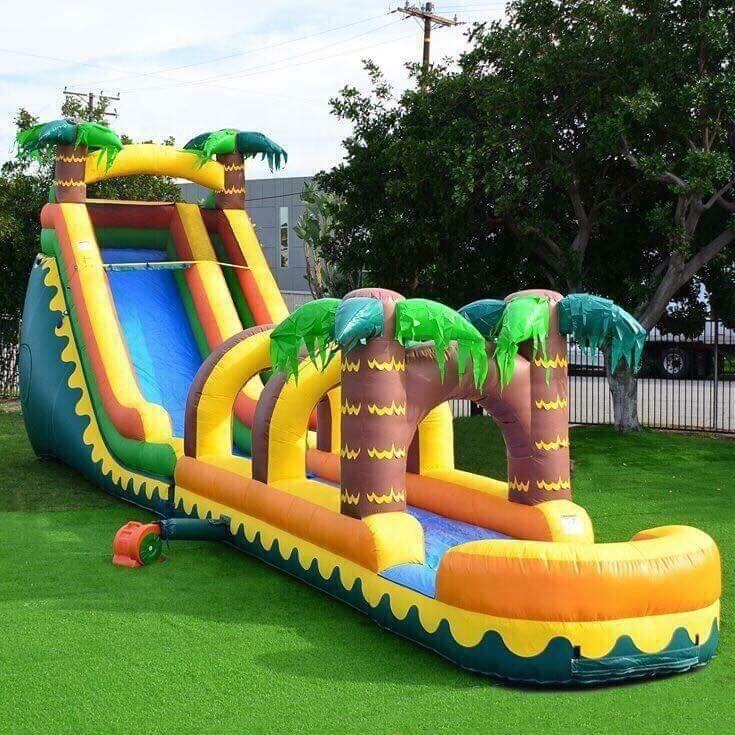 wholesale inflatable water slides pool for kids