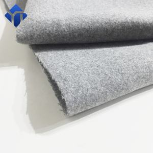 High quality woolen melton cloth winter fabric for AW19