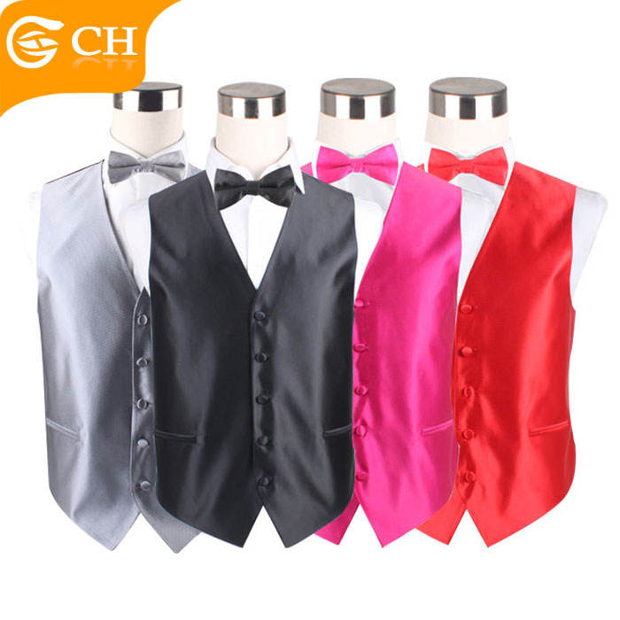 Colorful Mens Waistcoat Wedding Suits for Custom