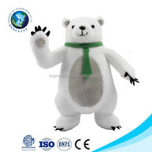 Customized lovely cute stuffed plush animal high quality  soft polar bear plush toy