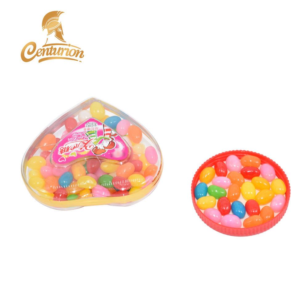 2019 Juicy fruits mini jelly bean sweet candies with love bottle